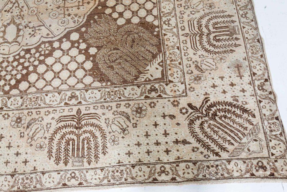 Vintage Tabriz Beige Rug BB7378