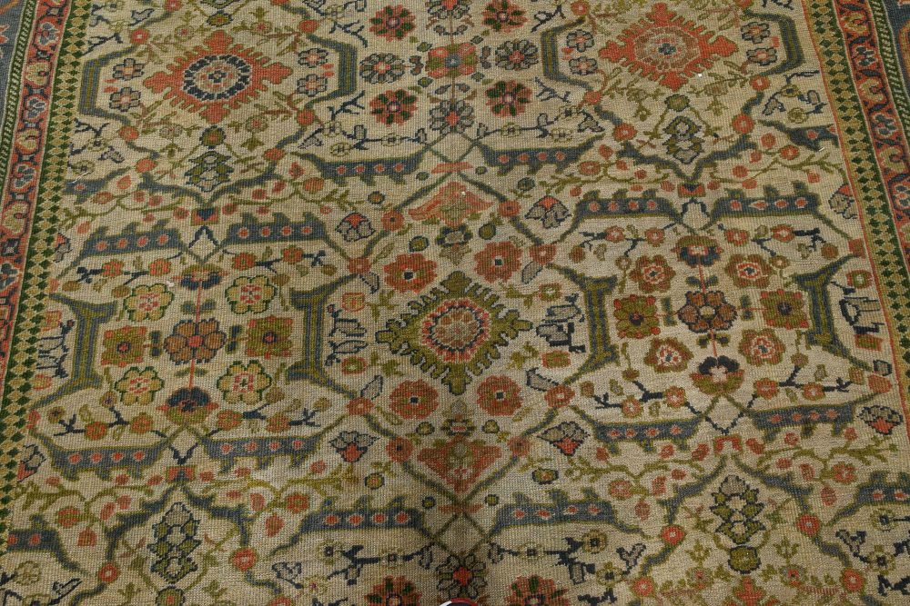 Antique Persian Sultanabad Rug (Size Adjusted) BB7381