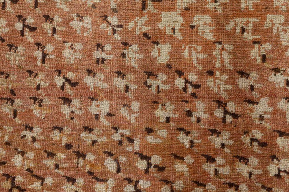 Antique Turkish Ghiordes Carpet BB7384