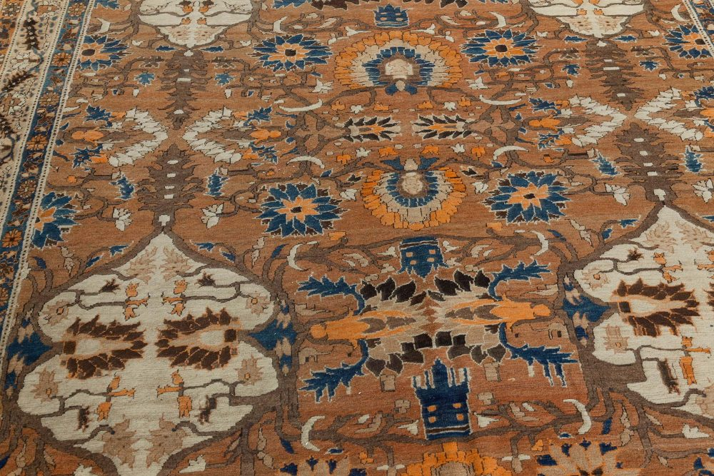 Persian Tabriz Carpet (Size Adjusted) BB7391