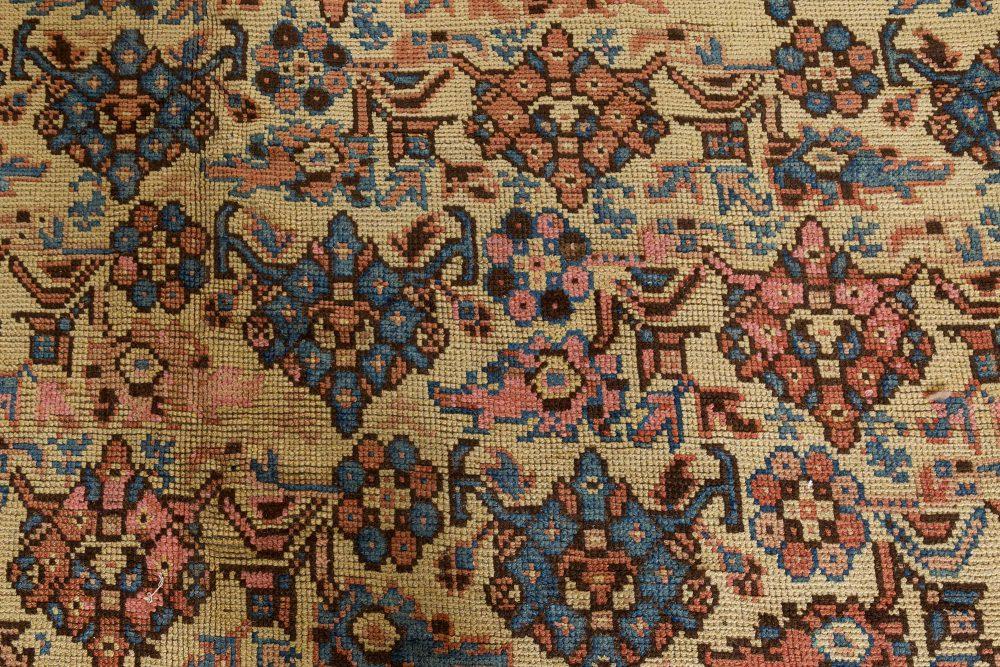 Antique Turkish Oushak Carpet BB7394