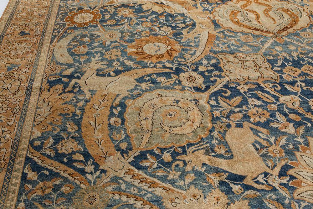 Antique Indian Amritsar Rug BB7395