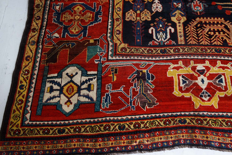 Antique Persian Bakhtiari Rug BB7400