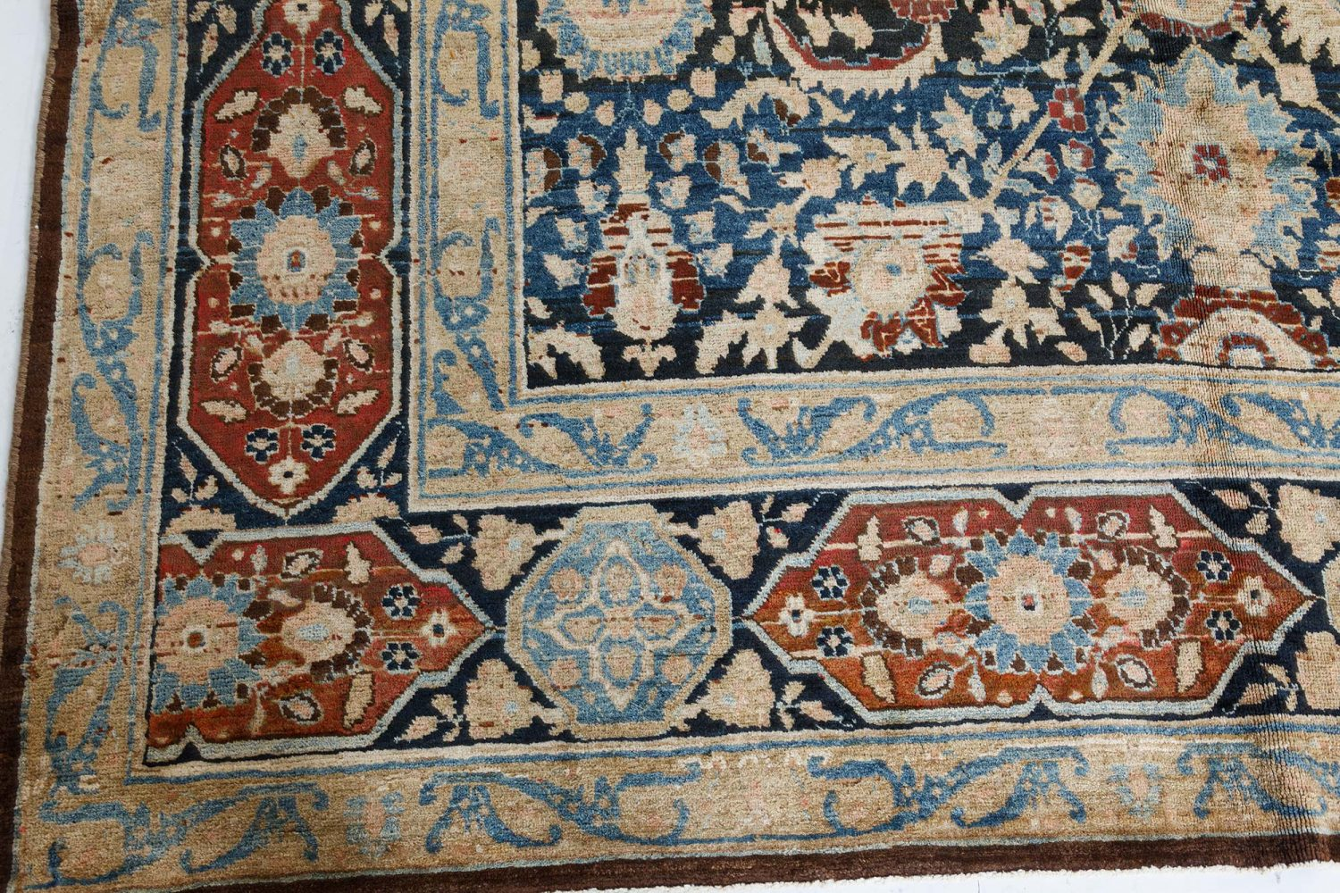 Antique Persian Tabriz Carpet BB7404