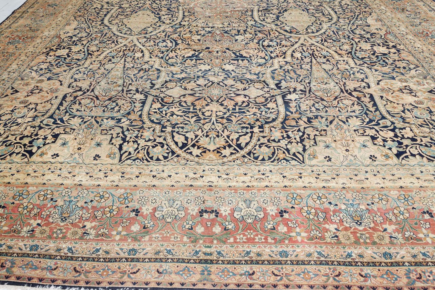 Antique Persian Kirman Carpet BB7417