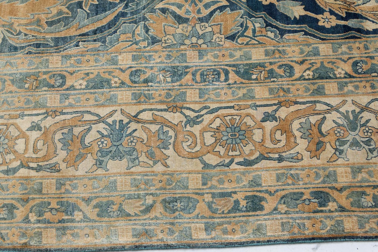 Oversized Antique Persian Kirman Rug BB7420