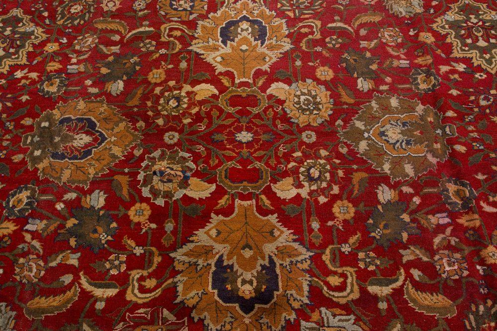 Antique Indian Agra Carpet BB7421