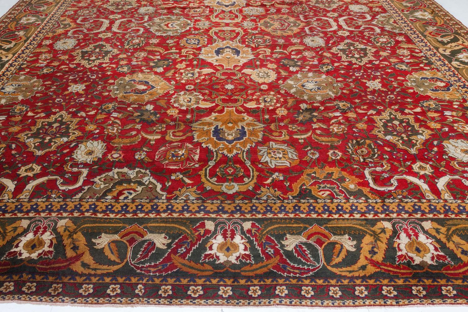 Antique Indian Agra Carpet BB7421