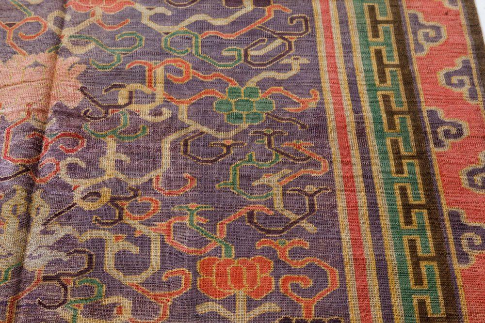 Vintage Silk Chinese Carpet BB7435