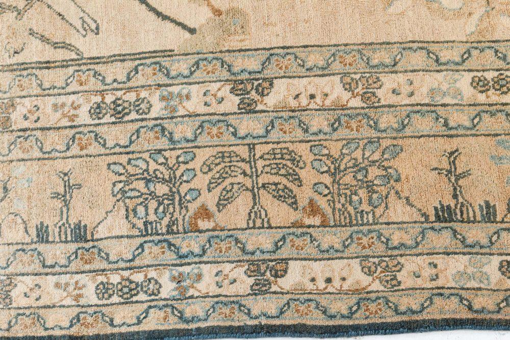 Antique Persian Meshad Carpet BB7484