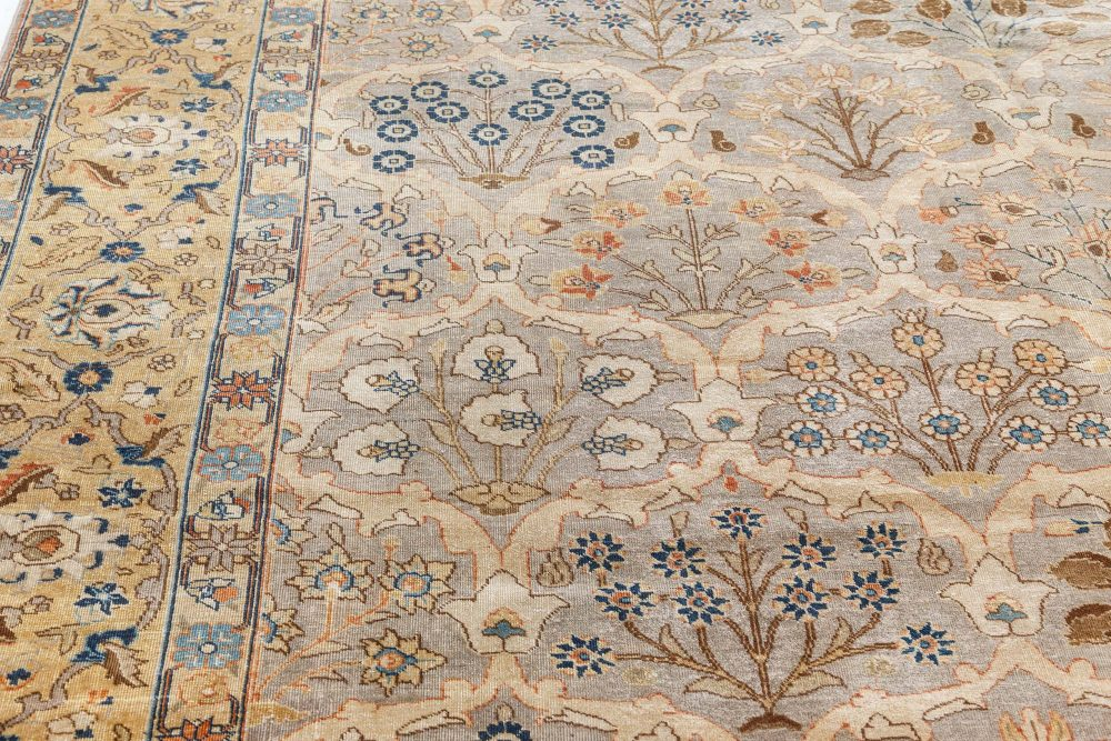 Antique Persian Tabriz Rug BB7486