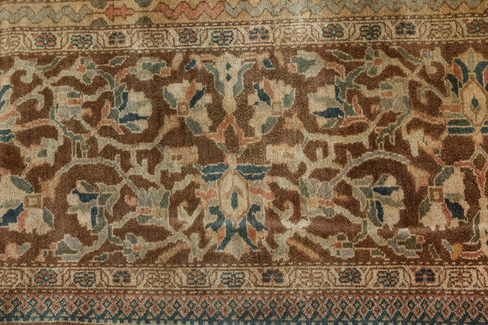 Antique Persian Sarouk Rug BB7488