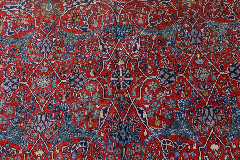 Antique Persian Tehran Rug BB7491