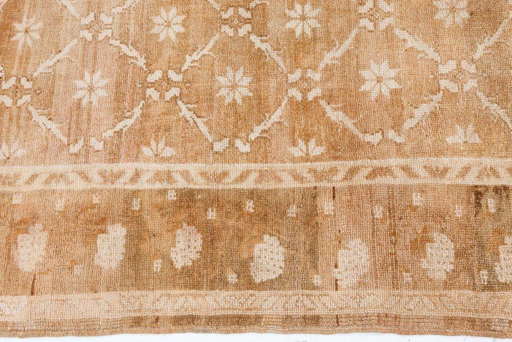 Antique Turkish Oushak Rug BB7492