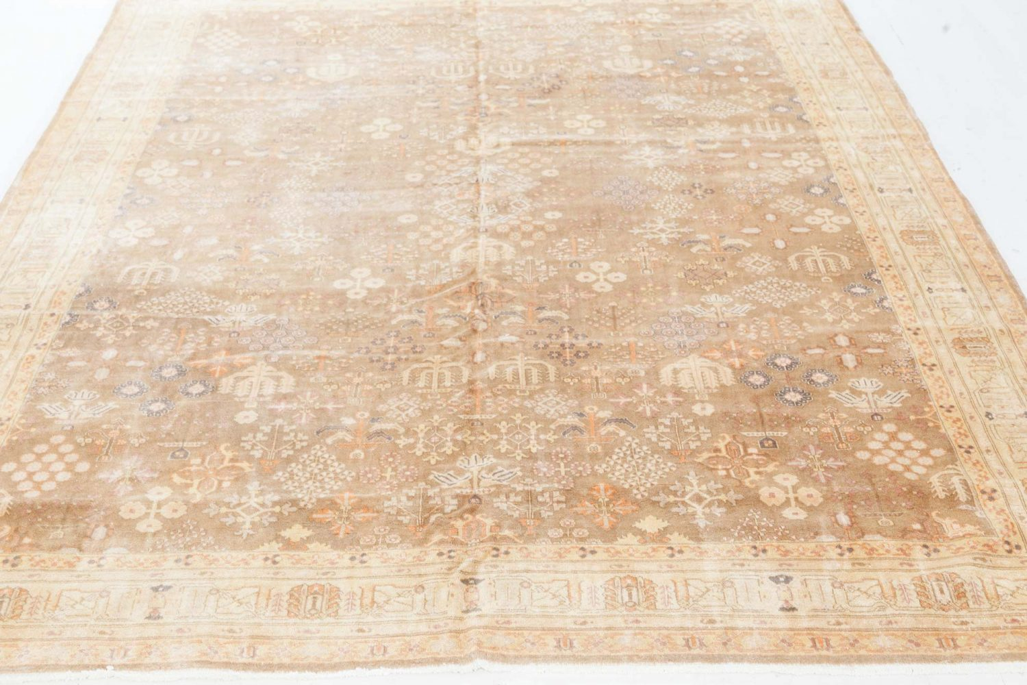 Vintage Persian Tabriz Carpet BB7494