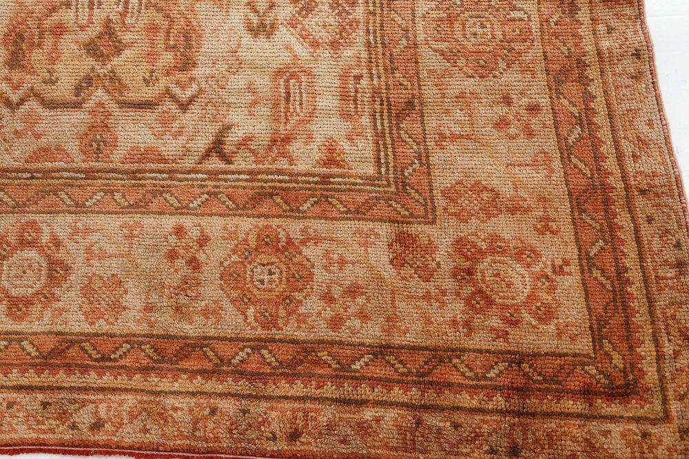 Oversized Vintage Turkish Oushak Carpet BB7501