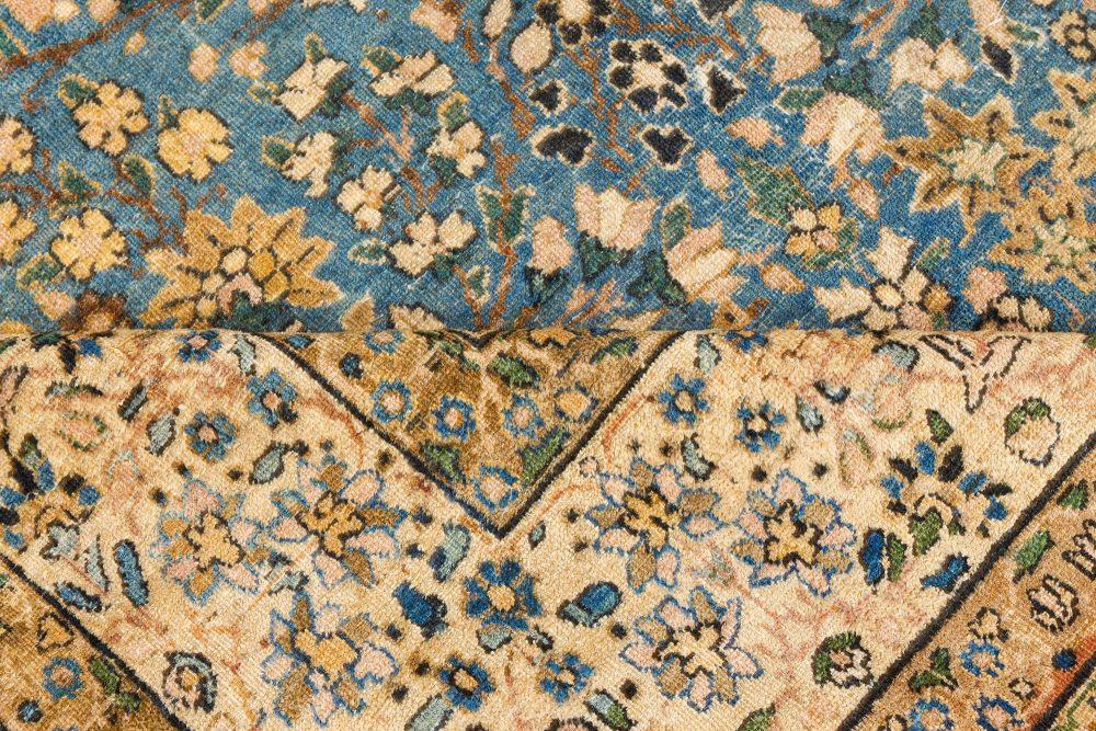 Vintage Kirman Blue Carpet BB7515
