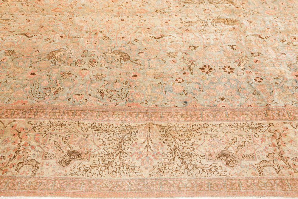 Antique Persian Tabriz Rug BB7516