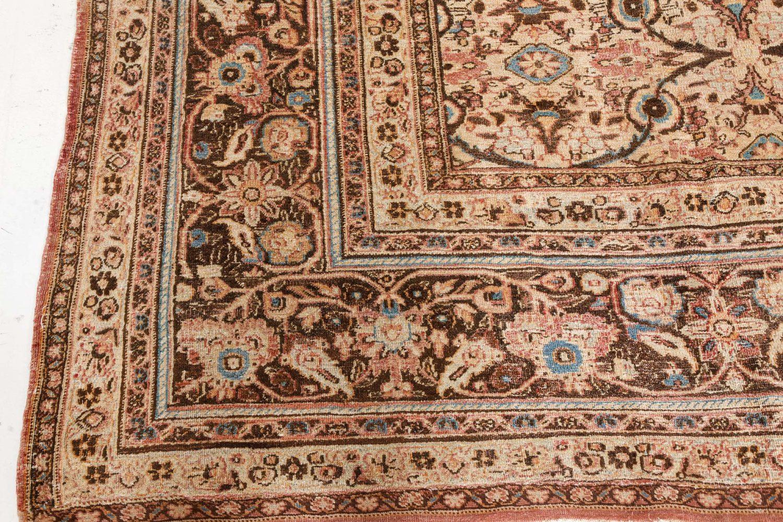 Antique Persian Meshad Rug BB7518