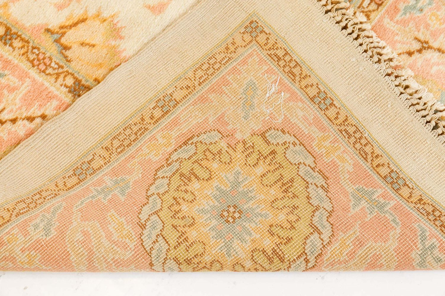 Vintage Turkish Oushak Carpet BB7522