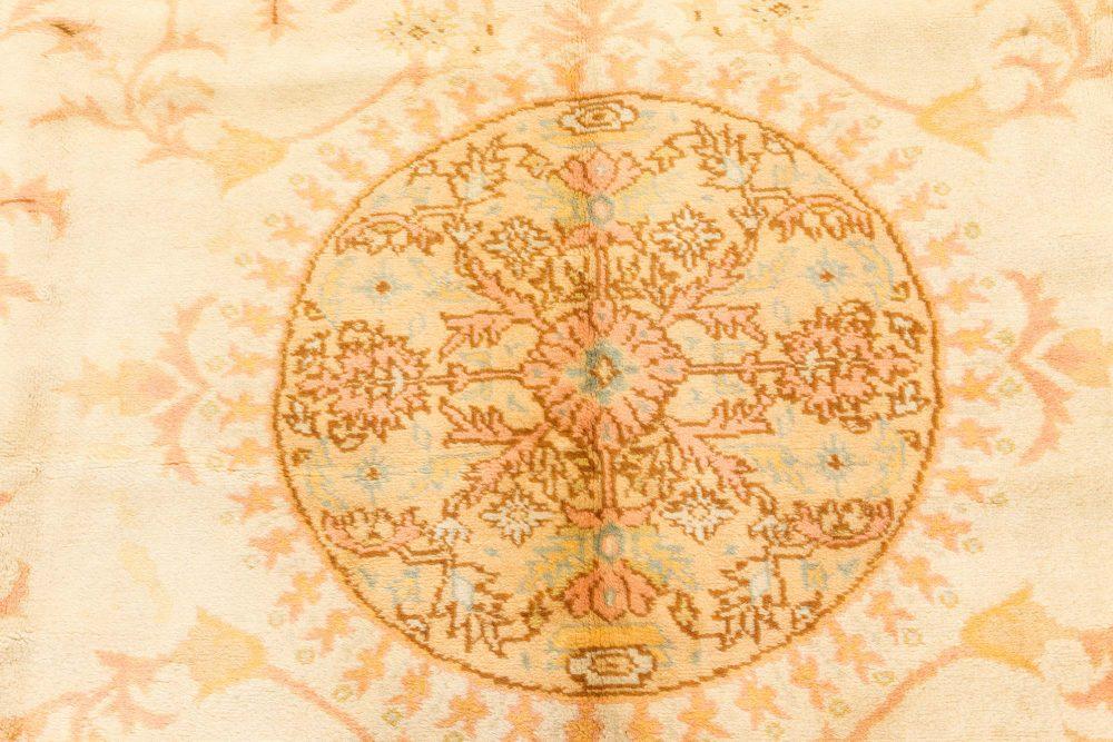 Vintage Turkish Oushak Carpet BB7522