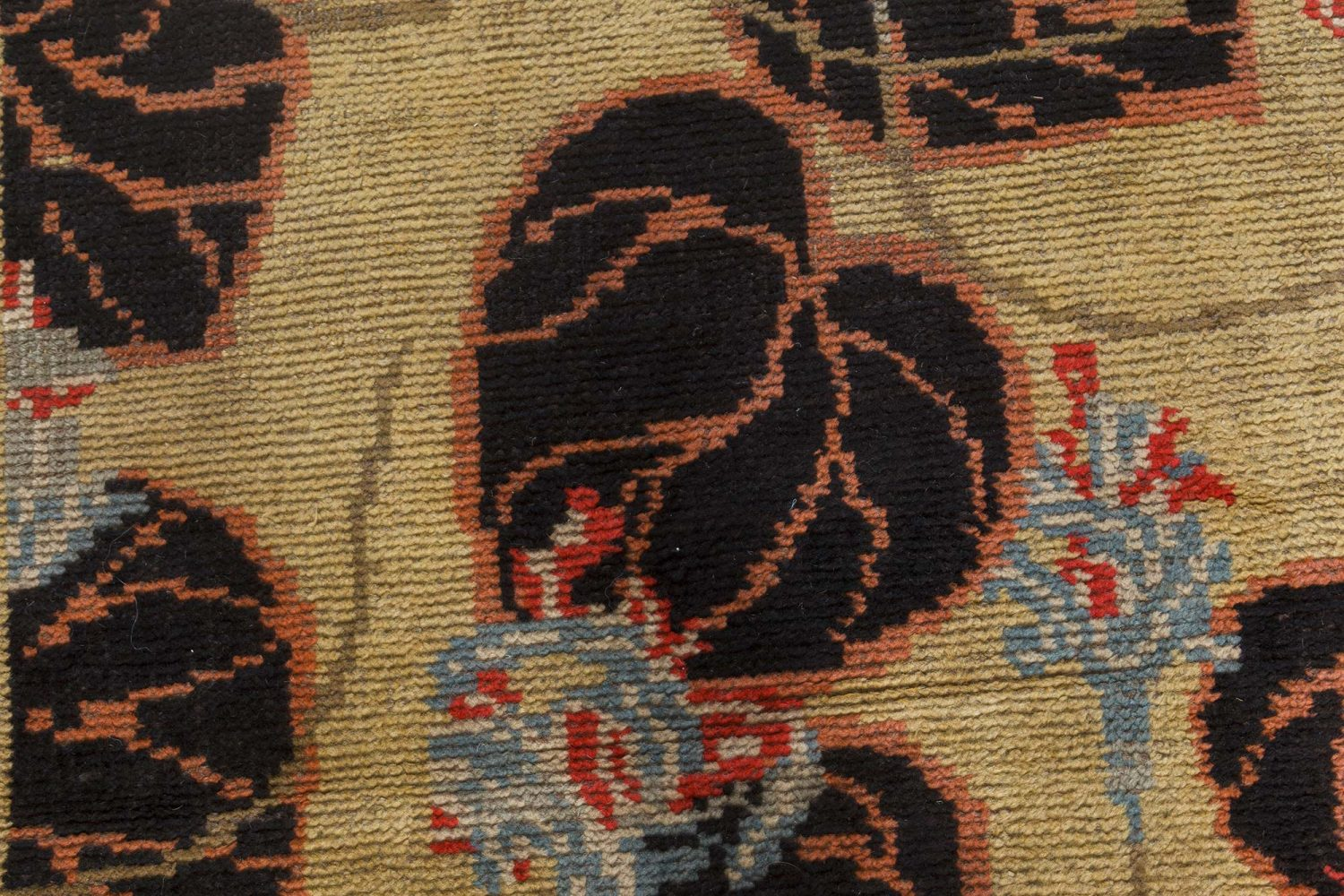 Vintage Irish Carpet BB7532