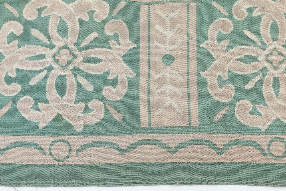 Antique French Aubusson Rug BB7545