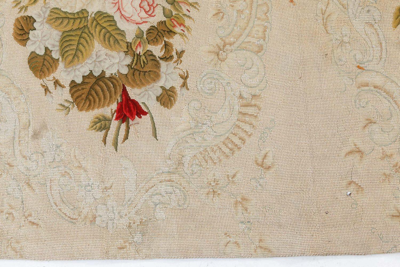 Antique Needlework Carpet BB7547