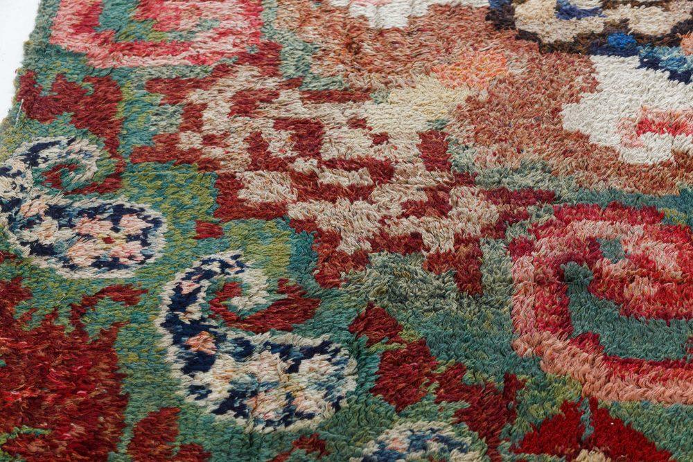 Handmade Vintage French Carpet BB7550