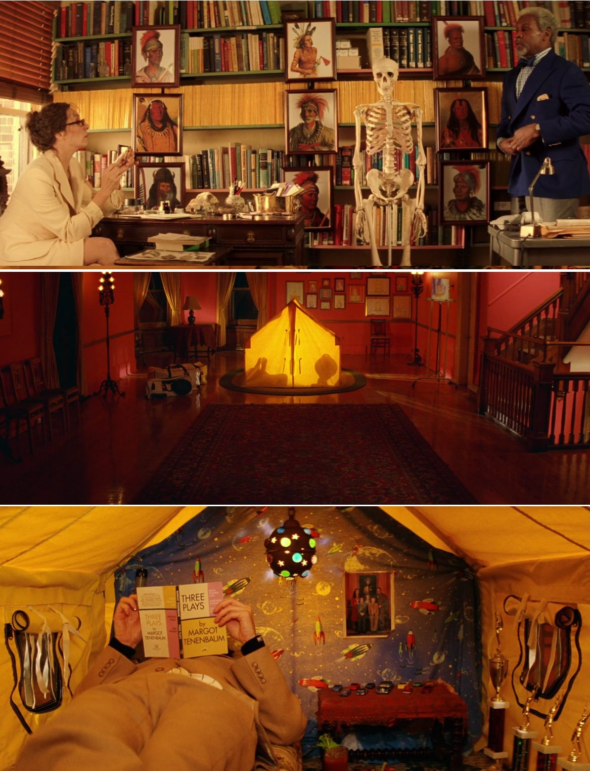 Royal Tenenbaums interio decor Wes Anderson