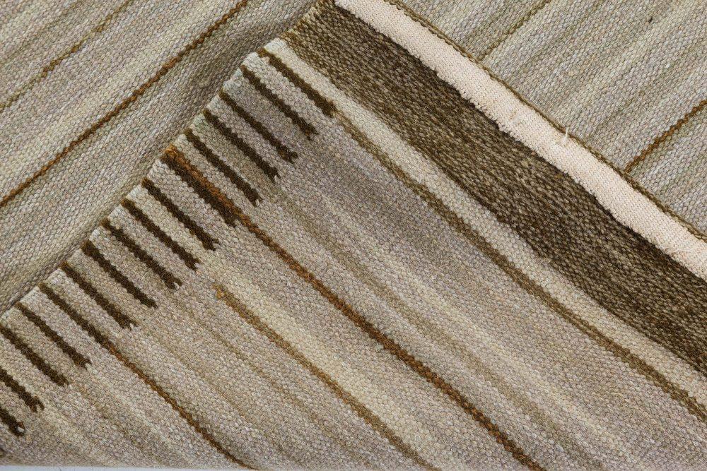 Scandinavian Design Flat Weave Rug N10976