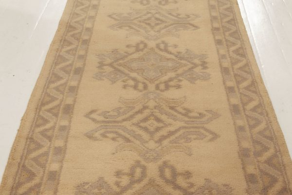 Antique Oushak Runner BB5248