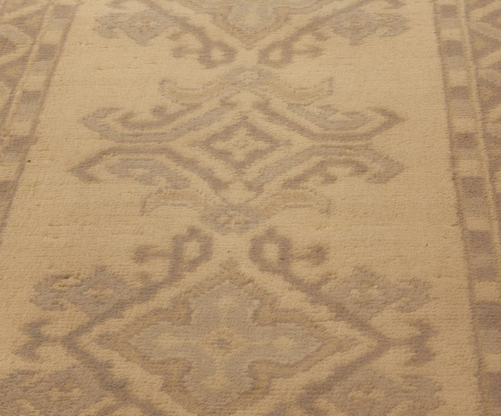 Antique Oushak Runner BB5248