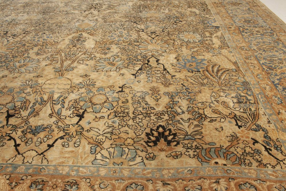 Vintage Persian Kirman Rug BB6019