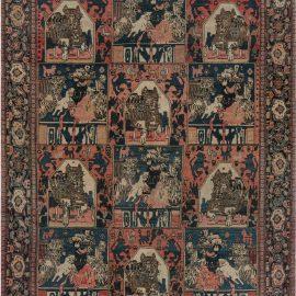 Antique Persian Senneh Rug BB7436