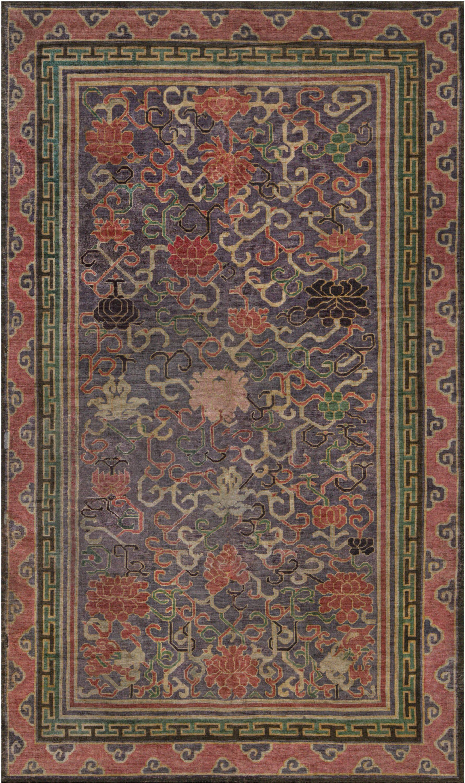 Vintage-chinese-silk-carpet-8 × 5-bb7435