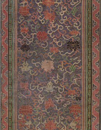 Extra Large Vintage Indian Dhurrie Carpet BB7557