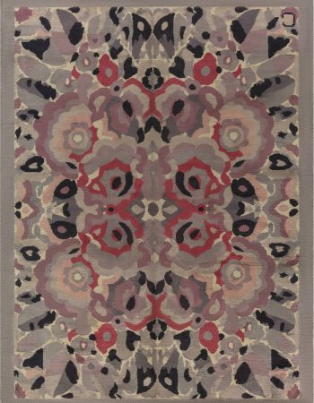 Vintage Art Decorative Area Rug BB7141
