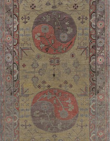Antique Persian Tabriz Rug BB7343