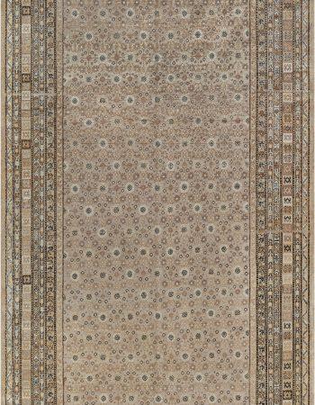 Extra Large Vintage Indian Dhurrie Carpet BB7557