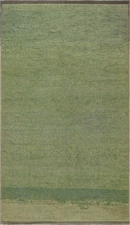 Vintage-turkish-green-solid-carpet-8 × 5-bb7427