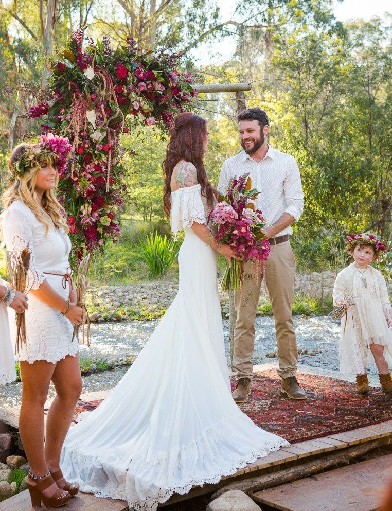 Weddings on Oriental Rugs: Say YES to Rugs! 12