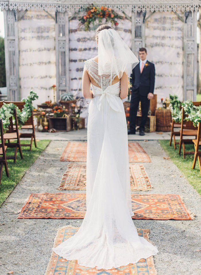 Weddings on Oriental Rugs: Say YES to Rugs! 2