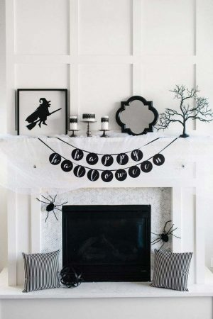 Scary & Stylish: Glamouröse Halloween Dekor 57