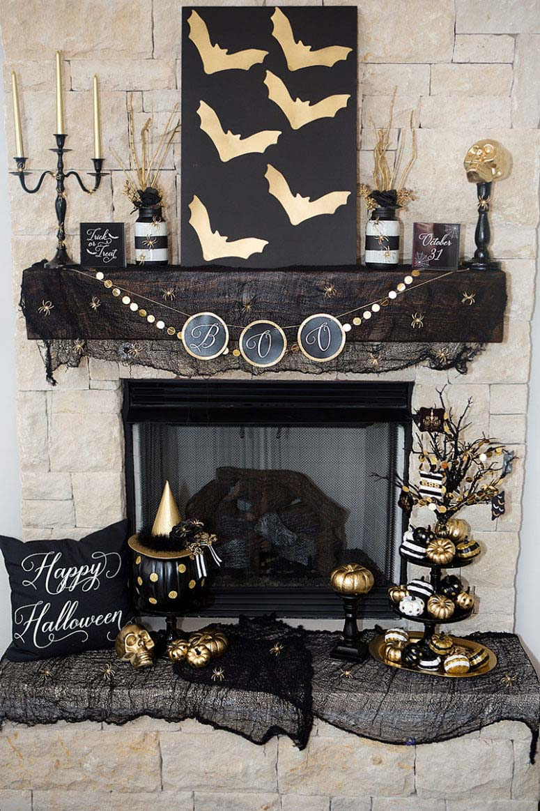 Scary & Stylish: Glamouröse Halloween Dekor 45