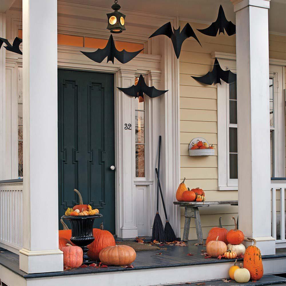 Halloween interior decor ideas porch