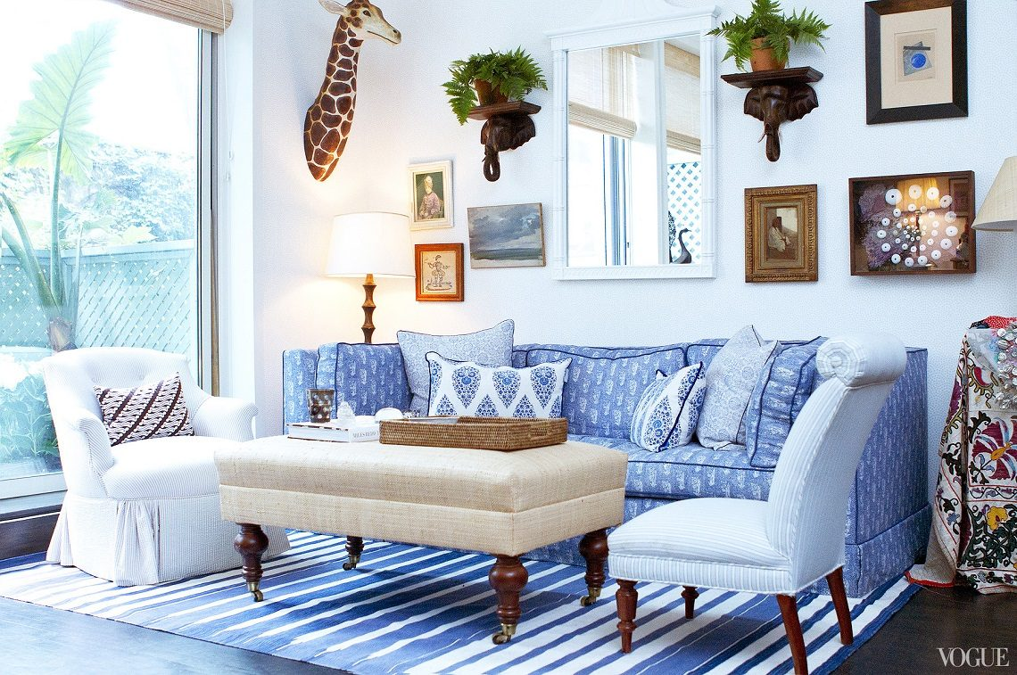 colorful interior, colorful living room, interior decorating, decorating with color, color palette, blue interior, blue living room