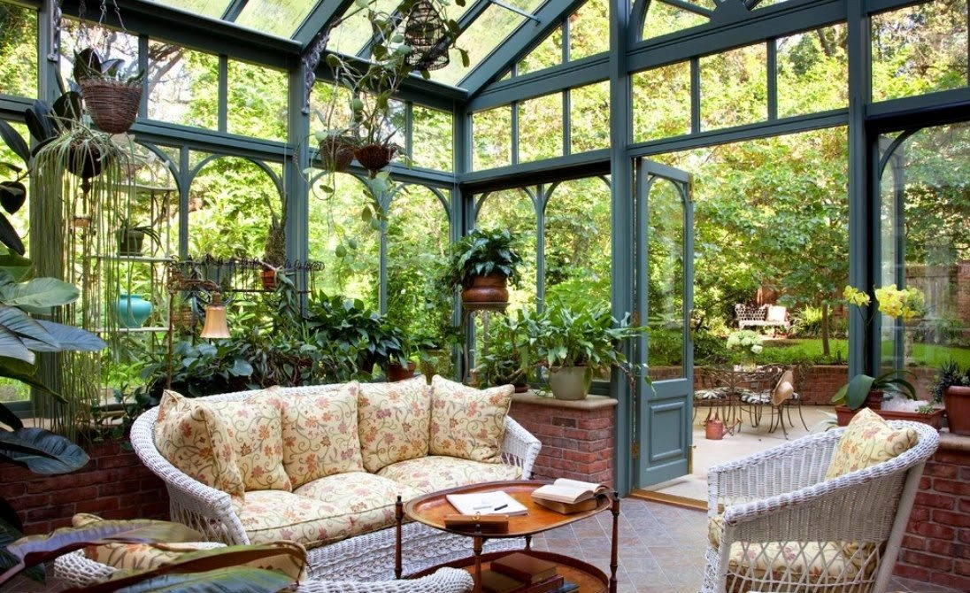 pantone color 2017 greenery green elegant orangery decor