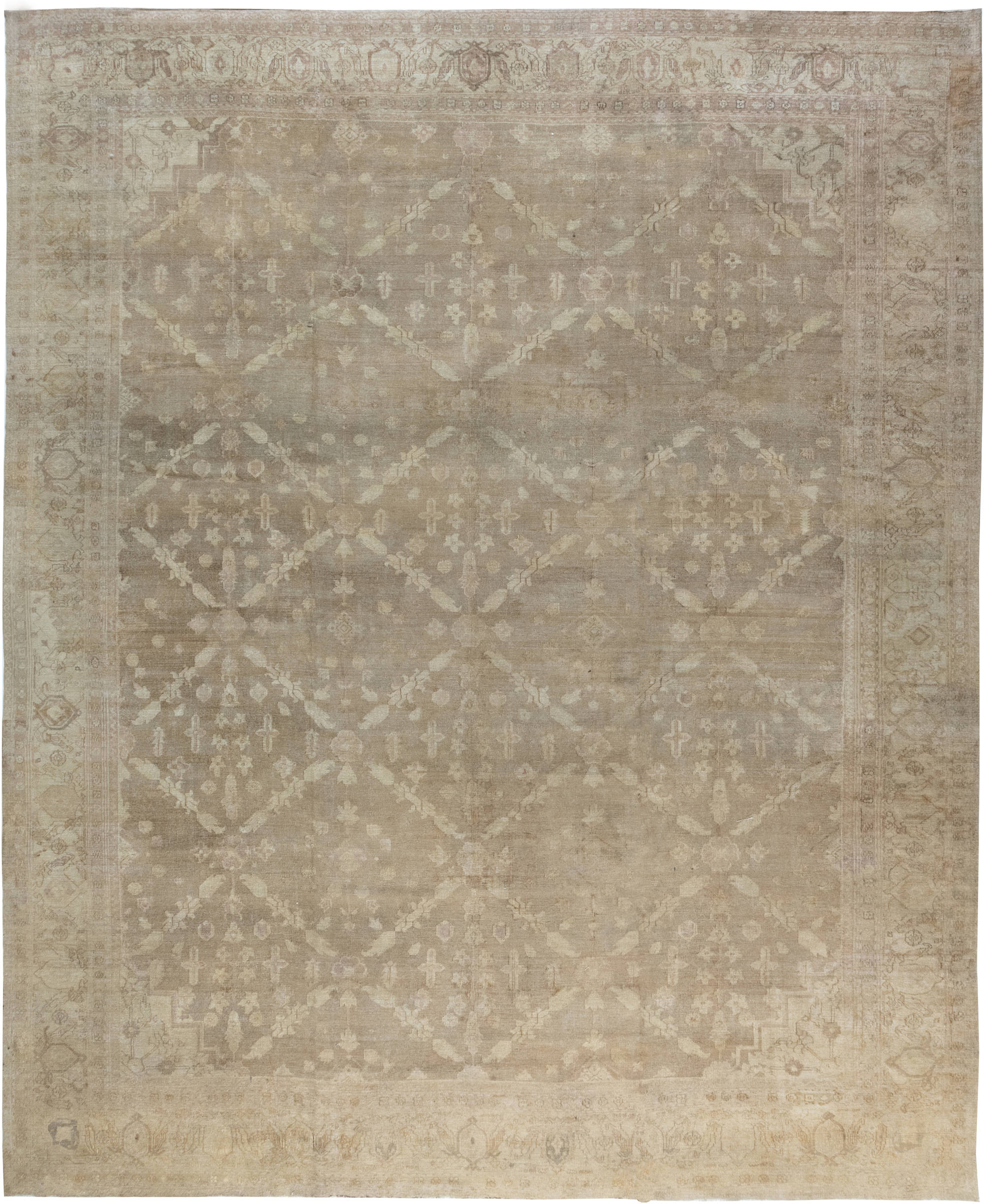 Large Indian Amritsar Carpet BB6364