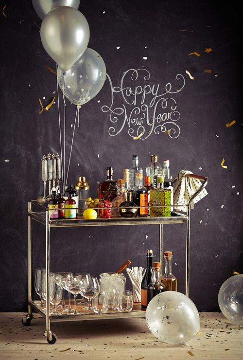 Glam Party Decor for a New Year's Eve! 15
